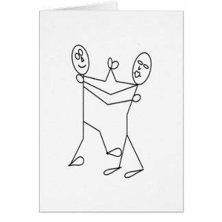 STICK AROUND FOR THE DANCE GIFTS GREETING CARD
