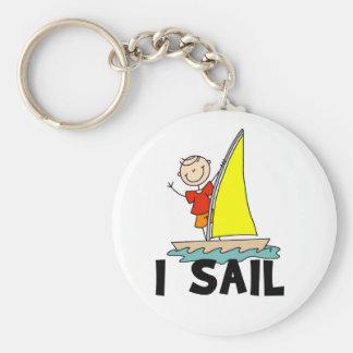 Stick Boy I Sail Keychains
