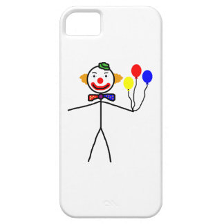 Stick Clown iPhone 5 Cases