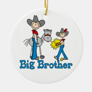 Stick Cowboys Big Brother Christmas Ornament