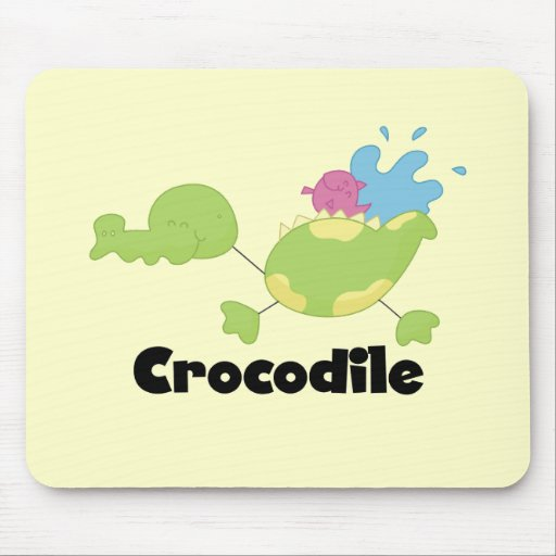 Stick Crocodile Tshirts and Gifts Mouse Pads