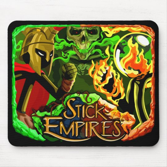 Stick Empires - The 3 Empires Mouse Pad