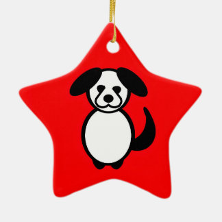Stick Family Dog Christmas Ornament