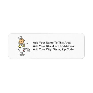 Stick Figure Angel T-shirts and Gifts