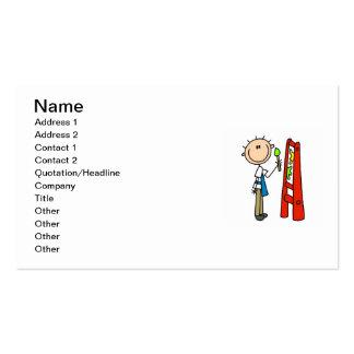 Stick Figure Artist Pack Of Standard Business Cards