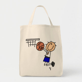 Stick Figure Basketball Sink T-shirs and Gifts Tote Bag