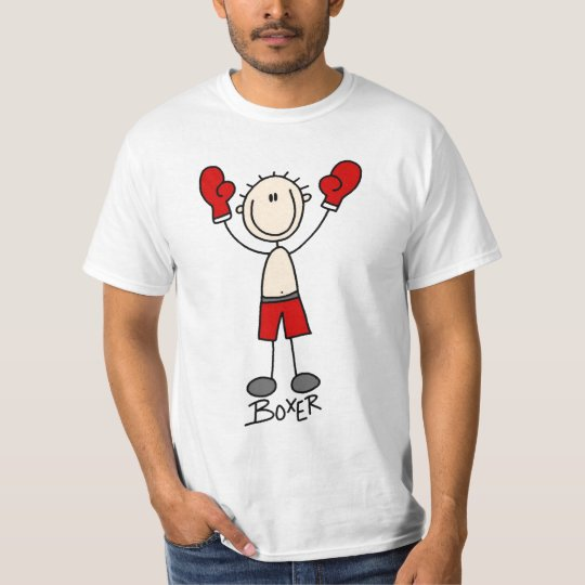 Stick Figure Boxing T-shirts and Gifts