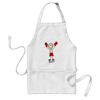 Stick Figure Boxing T-shirts and Gifts Standard Apron