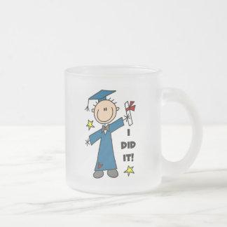 Stick Figure Boy Graduate T-shirts and Gifts Coffee Mug