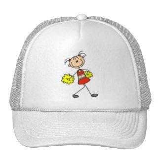 Stick Figure Cheerleading Tshirts and Gifts Cap