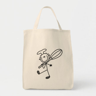 Stick Figure Chef with Whipper Tote Bag