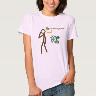 Stick Figure Doodiepants Tshirts