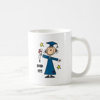 Stick Figure Girl Graduate T-shirts and Gifts Mugs