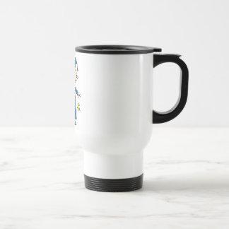 Stick Figure Girl Graduate T-shirts and Gifts Coffee Mug