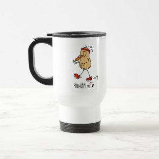 Stick Figure Health Nut Mug