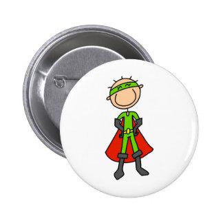 Stick Figure Hero Button