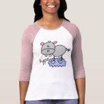 Stick Figure Hippo T-shirts