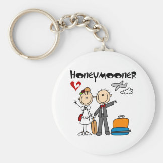 Stick Figure Honeymooner T-shirts and Gifts Keychains