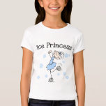 Stick Figure Ice Princess T-Shirt