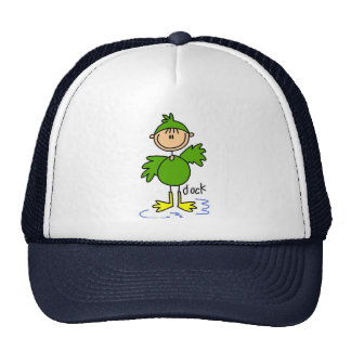 Stick Figure In Duck Suit Hat
