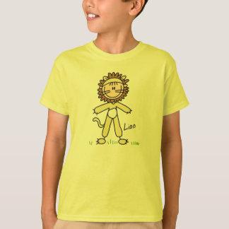 Stick Figure In Lion Suit Shirt