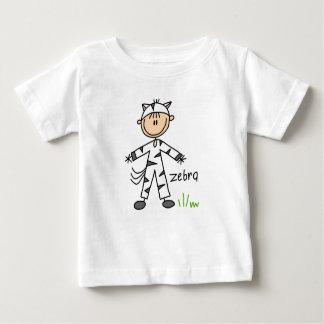 Stick Figure In Zebra Suit Shirt