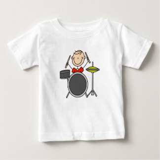 Stick Figure Male Drummer T-shirts and Gifts