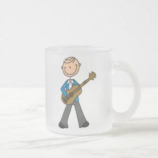 Stick Figure Male Guitar Player T-shirts and Gifts Coffee Mug