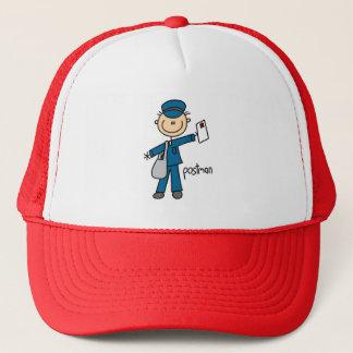Stick Figure Postman Hat