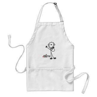 Stick Figure Referee T-shirts and Gifts Standard Apron