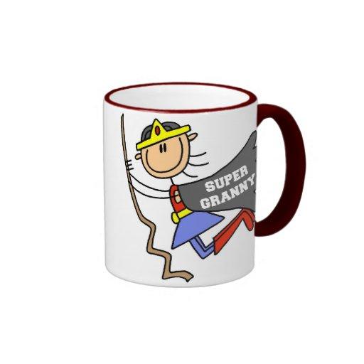 Stick Figure Super Granny Mug
