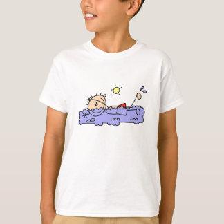 Stick Figure Swim and Splash T-Shirt