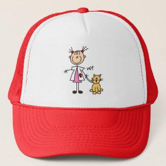 Stick Figure Veterinarian Hat