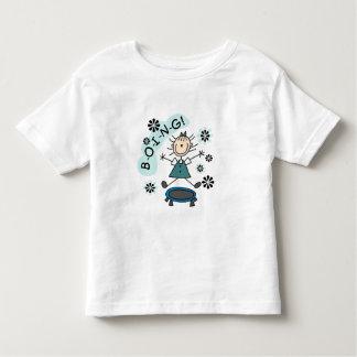 Stick Girl on Trampoline Toddler T-Shirt