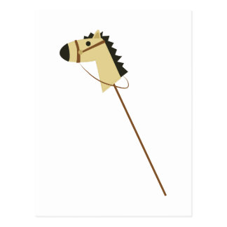Stick Horse Postcard