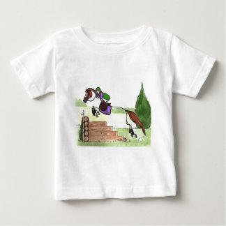 STICK HORSE XC Eventer Chestnut T-shirts