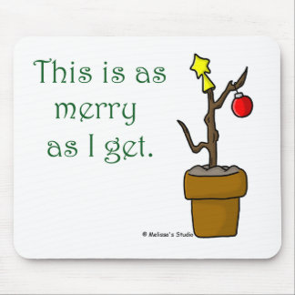 Stick in a Pot Christmas Mouse Pad