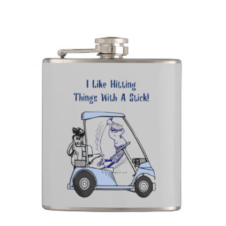 Stick It! Hip Flask