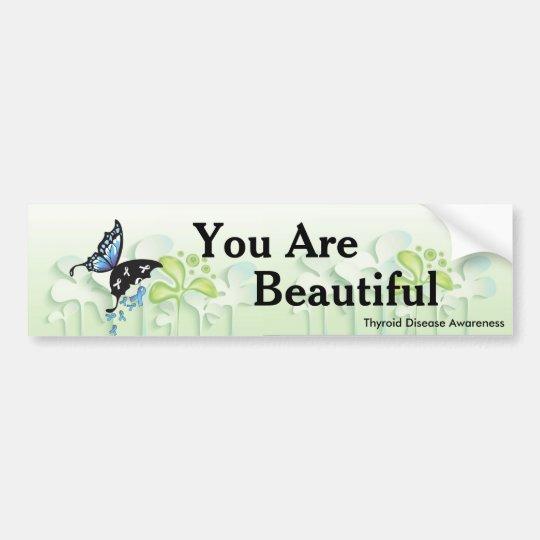 Stick it to Thyroid Disease! Bumper Sticker