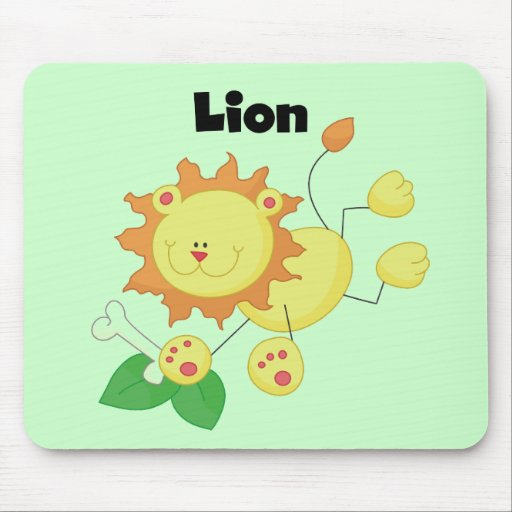 Stick Lion T-shirts and Gifts Mouse Pad