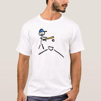 Stick Man Baseball T-Shirt
