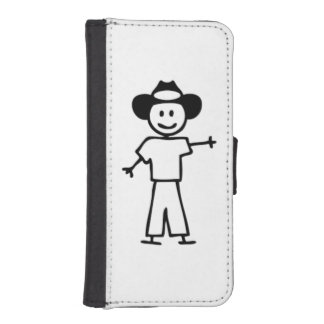 Stick man cowboy Phone case