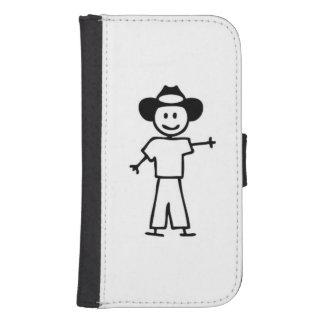 Stick man Cowboy phone case (Samsung Galaxy S4)