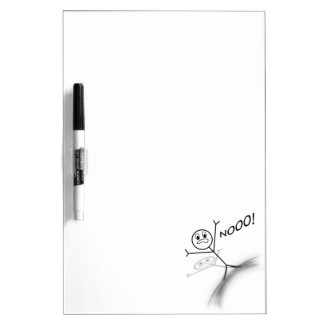 Stick Man Wipeout Dry Erase Board