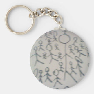 Stick Men Key Ring