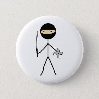 Stick Ninja 6 Cm Round Badge