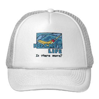 Stick on Ice Hockey is There More Tshirts Mesh Hats