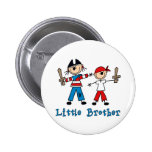 Stick Pirates Little Brother 6 Cm Round Badge