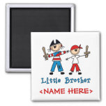 Stick Pirates Little Brother Refrigerator Magnet