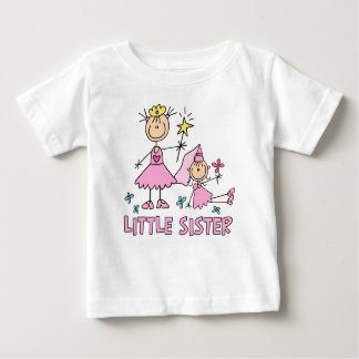 Stick Princess Duo Little Sister Baby T-Shirt